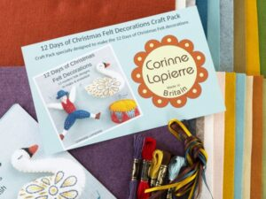 12 days of christmas craft pack