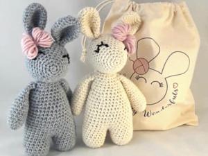 Twin Bunny Rabbit Beginner Kit