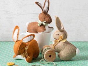 Bunnies Felt Craft Kit