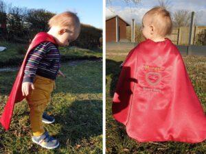 Heart Hero Cape