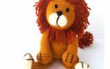 Alfred the Lion Crochet Kit