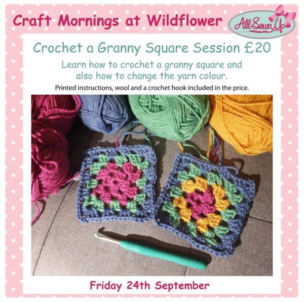Crochet a Granny Square sessions