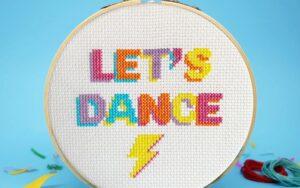 LET'S DANCE Cross Stitch Kit